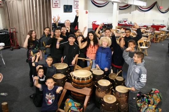ZUMIX African Drumming Ensemble portrait