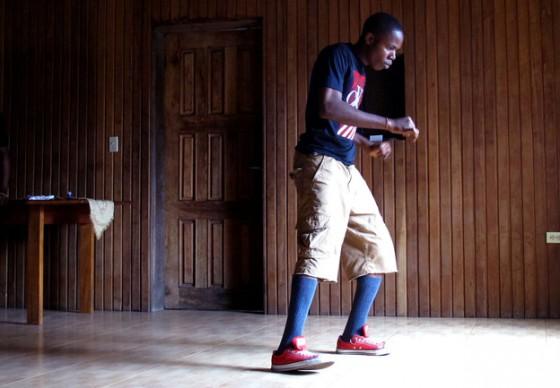 Krump dancing in Liberia West Africa