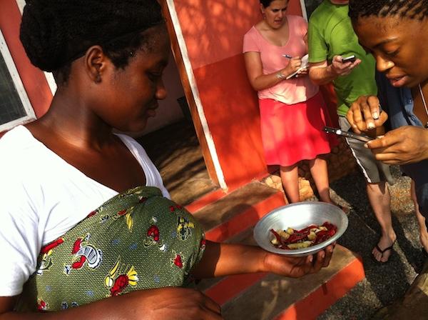 Kelewele ingredients