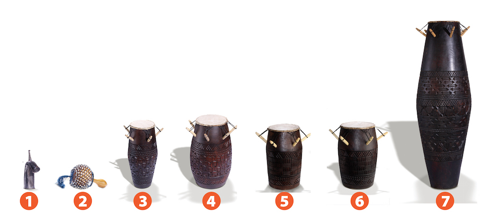 Agbekor drums Ghana Africa
