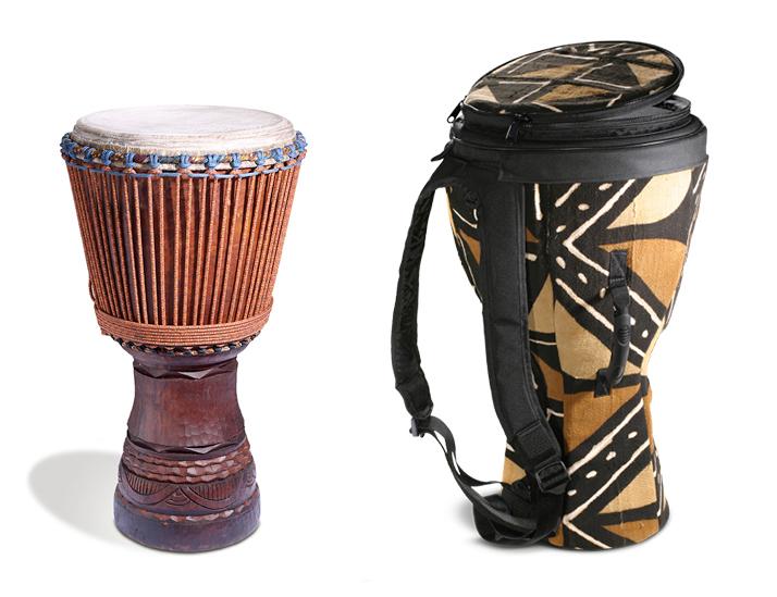 djembe african hand drum ivory coast